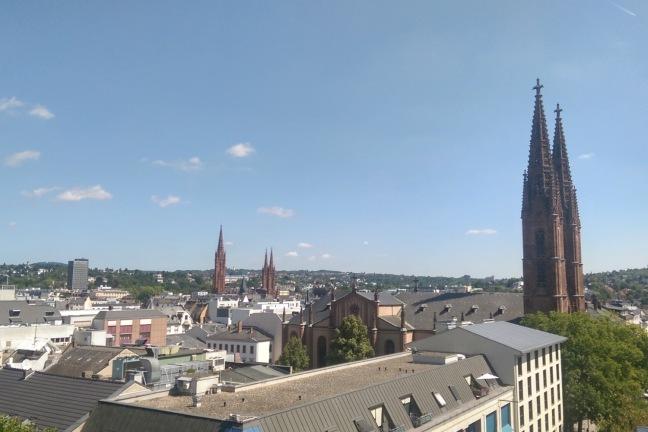 Dächer von Wiesbaden
