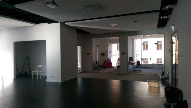 iKoKo Raum 1 mit Räumen 4 und 5, Durchgang Raum 2